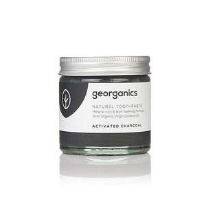 Georganics natürliche mineralhaltige Zahnpasta Activated Charcoal  - Georganics
