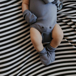 Babyschuhe 'Booties' - aus GOTS-zertifizierter Bio-Baumwolle - Wooly Organic