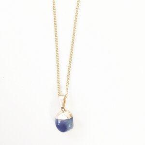Blue - Soldalit Halskette von Crystal and Sage - Crystal and Sage