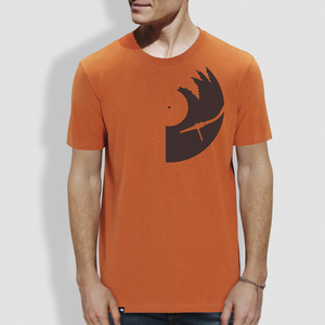 "Herren T-Shirt, ""Vinyl"" - little kiwi"