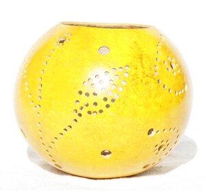 Kalebasse Teelicht - Africa Design