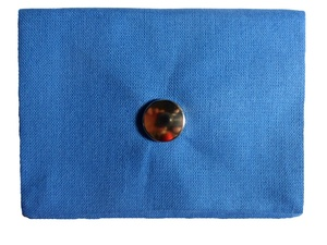 Leesha WILDe Upcycling Mini Portemonnaie My Blue - Leesha
