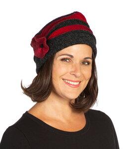 Biesen-Mütze Fabricia - AnRa Mode