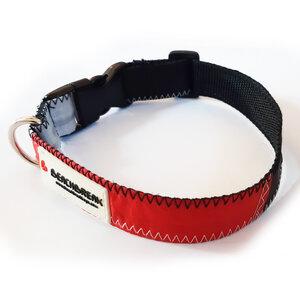 Verstellbares Hundehalsband hergestellt aus Segeltuch > 45 cm UNIKAT - Beachbreak