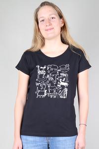"""Kipepeo """"Serengeti"""" Frauen Shirt. Handmade in Tanzania. - Kipepeo-Clothing"""