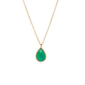 Halskette mit Tropfen Gold - Protsaah