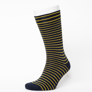 Stripe Pattern Socks - Opi & Max