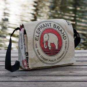 Messengerbag fair.flixt – roter Elefant - Milchmeer ecobags