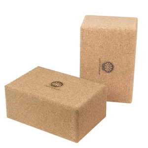 Yogablock KORK NATUR Extra Gross Lotus Design® - 23x15x10 cm - Lotus Design