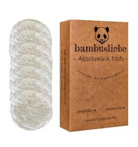 Abschminkpads (7er Pack inkl. Waschsack) - bambusliebe