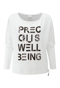 Love Batwing with Precious Wellbeing Print - Wellicious