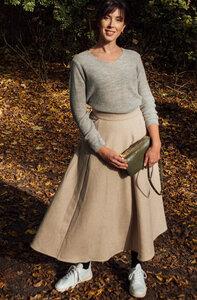 Wollrock - Afra skirt - Beige - Suite 13