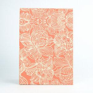 Notizbuch Lotus DIN A4 aus handgeschöpftem Jutepapier - Sukham