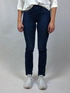 Dunkelblaue weiche Jeans - bloomers