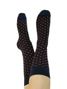 Damen Herren Socken Gepunktet 2 Farben Bio-Baumwolle  - Albero