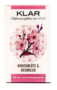 Klar´s Seifenmanufaktur Kirschblüte & Reismilchseife   - Klar Seifen