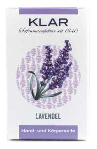 Klar´s Seifenmanufaktur Lavendel Seife   - Klar Seifen