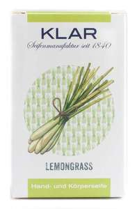 Klar´s Seifenmanufaktur Lemongrass Seife  - Klar Seifen