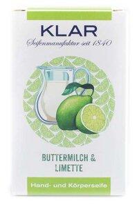 Klar´s Seifenmanufaktur Buttermilch & Limette Seife - Klar Seifen