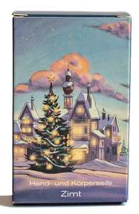 Klar´s Seifenmanufaktur Weihnachtsseife Zimt  - Klar Seifen