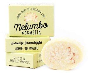 Nelumbo Soleseife Granatapfel - Nelumbo Kosmetik