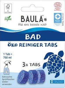 Biobaula Öko Tabs zur Reinigung Badreiniger  - Biobaula