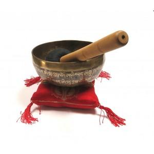 Tibetan Mantra Klangschale handgehämmert ca. 16 cm - Just Be