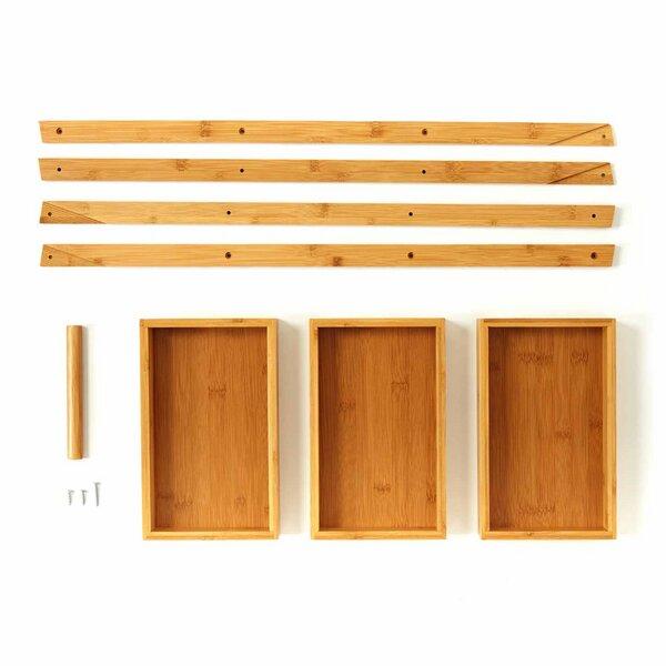 Bambuswald - Badezimmer-Regal   Duschregal - 3 Etagen aus 100% Bambus    Avocadostore