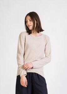 Sweater MAYA aus recycelter Baumwolle - stoffbruch