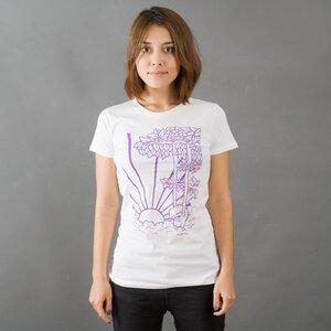 HENK Frauen T-Shirt weiss - MR. NELSON ecowear