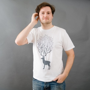 RUDOLPH Herrenshirt weiss - MR. NELSON ecowear