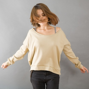 Longsleeve HENNA tonfarben für Frauen - MR. NELSON ecowear