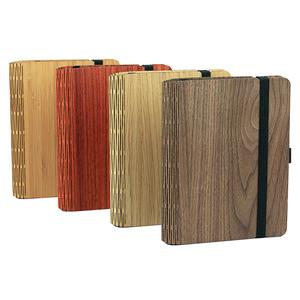 """Notizbuch """"WoodBook A6"""" aus Holz, Bucheinlage wechselbar - JUNGHOLZ Design"""