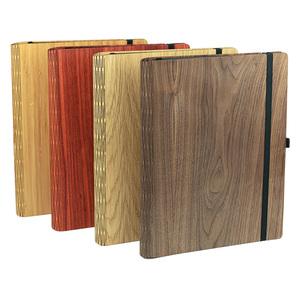 """Notizbuch """"WoodBook A4"""" aus Holz, Bucheinlage wechselbar - JUNGHOLZ Design"""