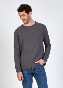 Sweater BLAKE aus recycelter Baumwolle - stoffbruch