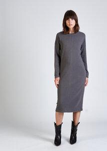 Kleid SANDRA aus recycelter Baumwolle  - stoffbruch