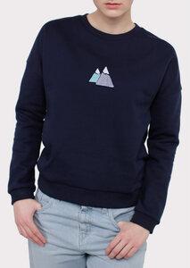 Sweatshirt JENNA mit Berg-Print - börd shört