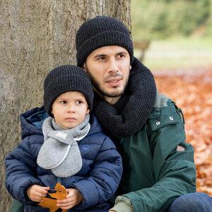 Kinder / Erwachsene Strick-Mütze Knut - Pickapooh