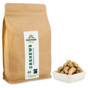 Cashewkerne Knobi & Pfeffer (500g) Bio & Fairtrade  - fairfood Freiburg