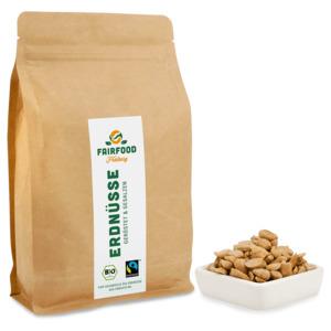 Erdnüsse Geröstet & Gesalzen (500g) Bio & Fairtrade  - fairfood Freiburg