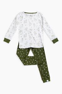 """Pyjama aus Bio-Baumwolle """"Grüne Dinosaurier"""" OceanBluu - OceanBluu"""
