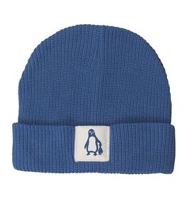 päfjes - Fair gehandelte Mütze - Pinguin Paul - Blau - päfjes