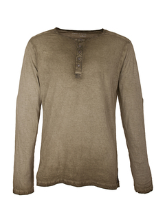Herren Basic Langarmshirt: HEINO - Trevors by DNB