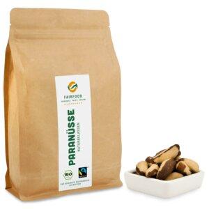 Paranüsse Naturbelassen (500g) Bio & Fairtrade  - fairfood Freiburg