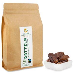 getrocknete Datteln: Deglet Nour (1000g) Bio & Fairtrade  - fairfood Freiburg