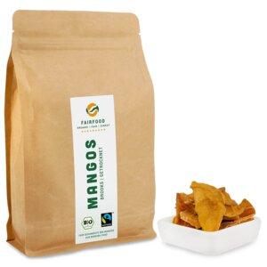 getrocknete Mangos Brooks (500g) Bio & Fairtrade  - fairfood Freiburg