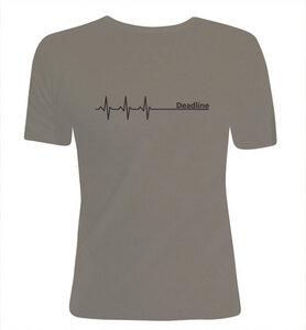 Deadline ;)  T-Shirt dicke Qualität, Enger Sitz / figurbetont in Olivgrün / Grün & Schwarz - Picopoc