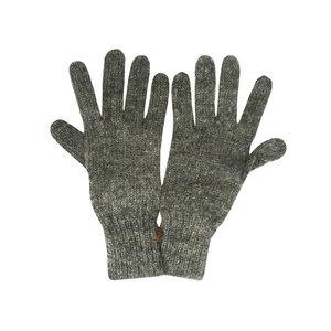 mariposa fair trade Damen/Herren Finger-Handschuhe Natur-Alpaka - mariposa