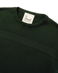 Wex Sailor Sweater - Dunkelgrün (Army) - Le Pirol