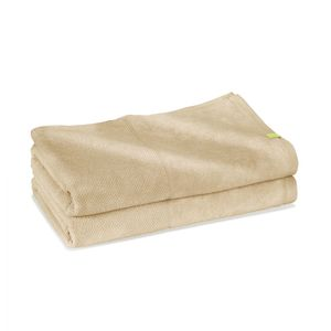 2x Bath Sheet  - klimapositives Saunatuch aus Holz - Kushel Towels